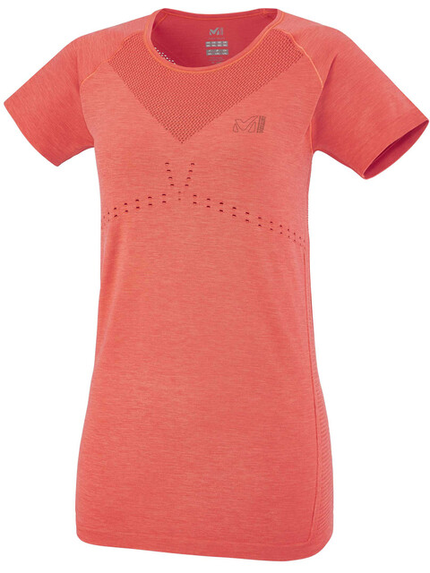 Millet W's Seamless Motion T-Shirt Hibiscus